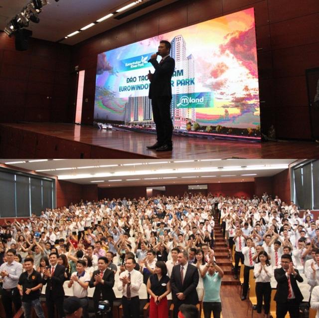 Chương trình đào tạo nhân viên của Eurowindow và MLAND Vietnam ngày 6/6 vừa qua