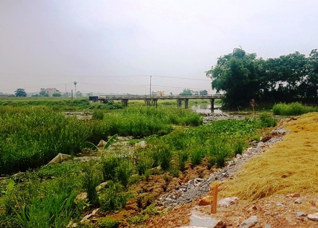 Chính quyền cấp đất cho người dân dưới lòng sông Hoạt