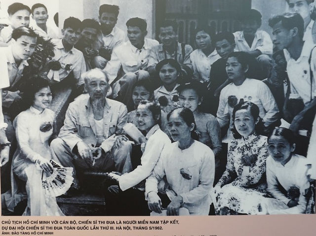 """Khai mạc triển lãm """"Chủ tịch Hồ Chí Minh với phong trào Thi đua yêu nước"""" - 8"""