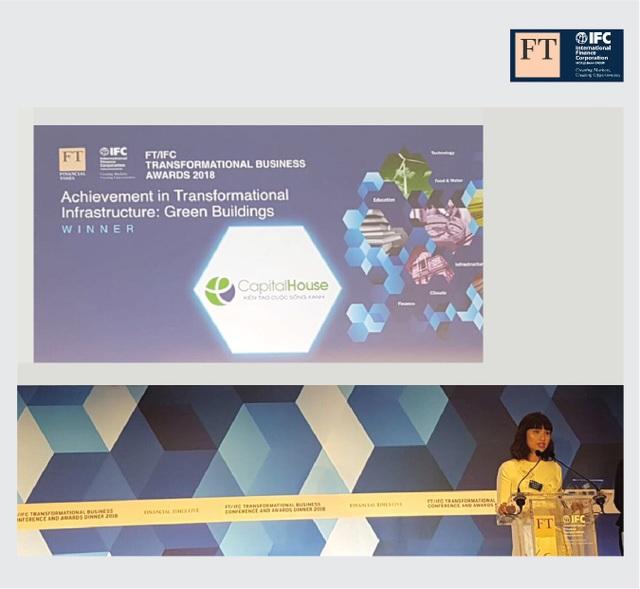 Capital House là doanh nghiệp đầu tiên của Việt Nam đạt giải thưởng Transformational Business Awards