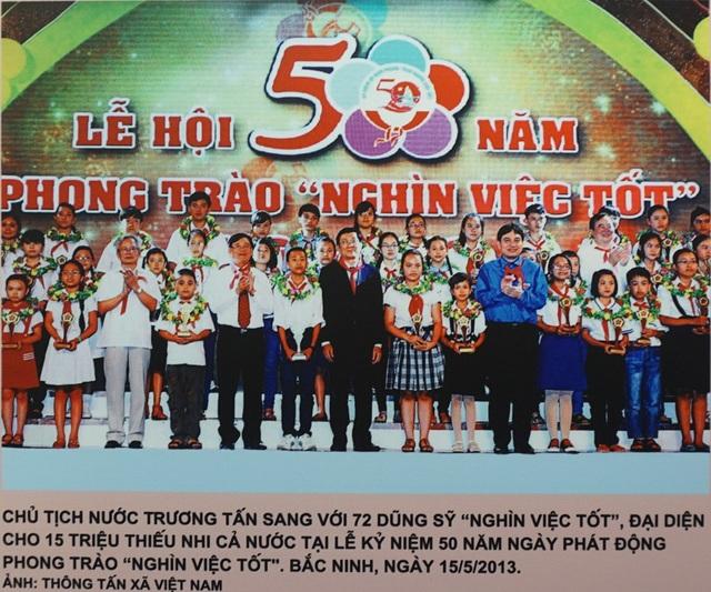 """Khai mạc triển lãm """"Chủ tịch Hồ Chí Minh với phong trào Thi đua yêu nước"""" - 11"""
