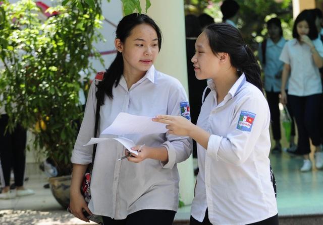 Đề thi Toán của Hà Nội năm nay được đánh giá khá nặng về kiến thức hàn lâm.