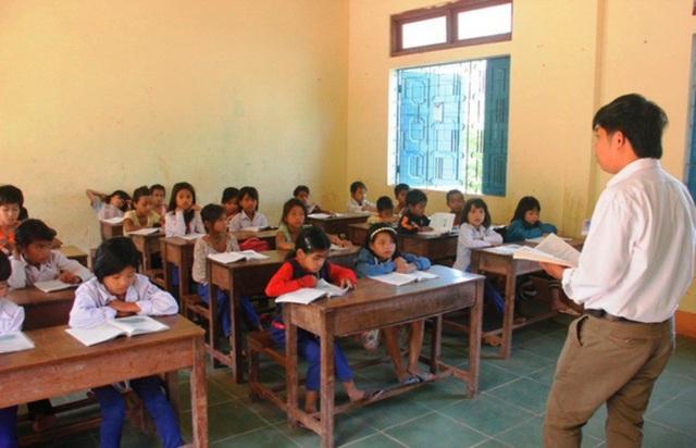 Điều kiện học tập của học sinh miền núi còn nhiều khó khăn