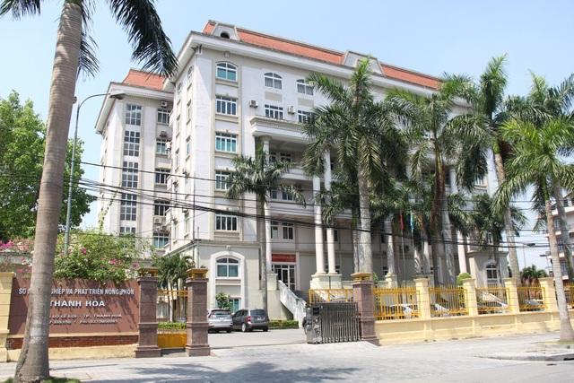 Sở NN&PTNT tỉnh Thanh Hóa, nơi xảy ra nhiều sai phạm trong công tác bổ nhiệm cán bộ.