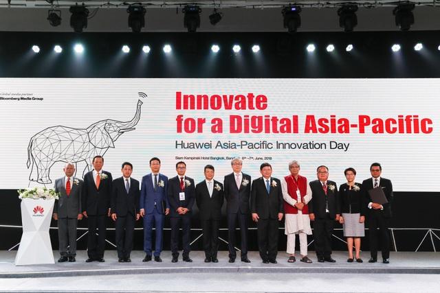 Khai mac Huawei Innovation Day 2018