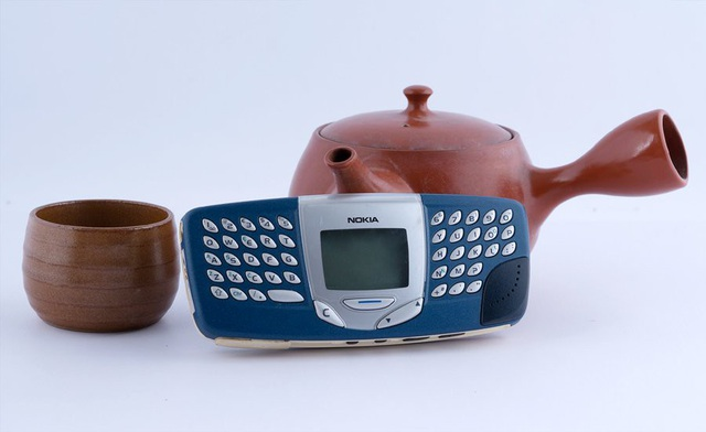 Một mẫu điện thoại cổ thương hiệu Nokia