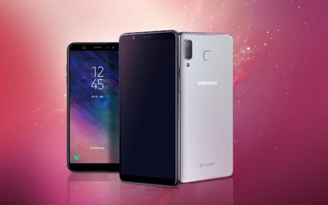Galaxy A9 Star có thiết kế với nhiều nét tương đồng trên iPhone X của Apple