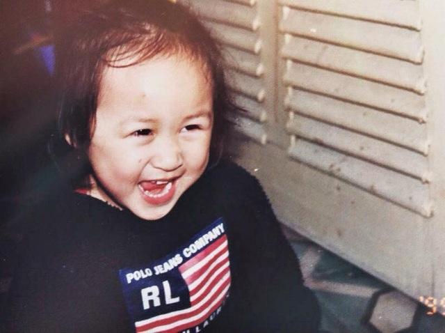 Thiện Thanh sinh năm 1996 có tên gọi ở nhà đáng yêu là Bột giặt.