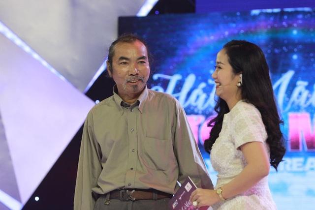 Ông Trần Tập tham gia chương trình vì người bạn 80 tuổi có gia cảnh khó khăn.