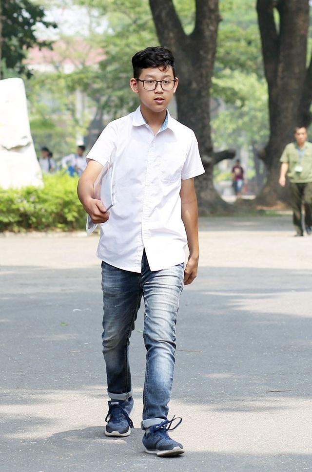 Thí sinh Cấn Gia Bảo (THPT Chu Văn An)