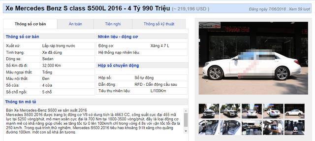Những chiếc xe cũ bán tiền tỷ: Đại gia lắc đầu, dân buôn ngao ngán - 3