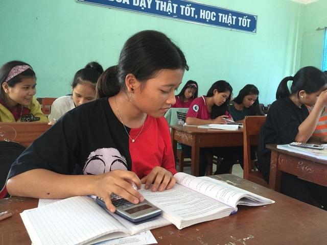 Đa phần học sinh vùng cao có học lực còn hạn chế nên các em xác định phải nỗ lực hết mình khi ôn thi