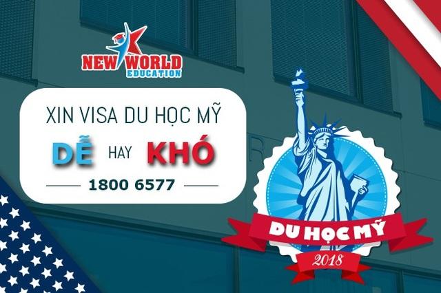 Du học Mỹ 2018 - Tỷ lệ Visa thành công cao nếu bạn luyện phỏng vấn kĩ - 1