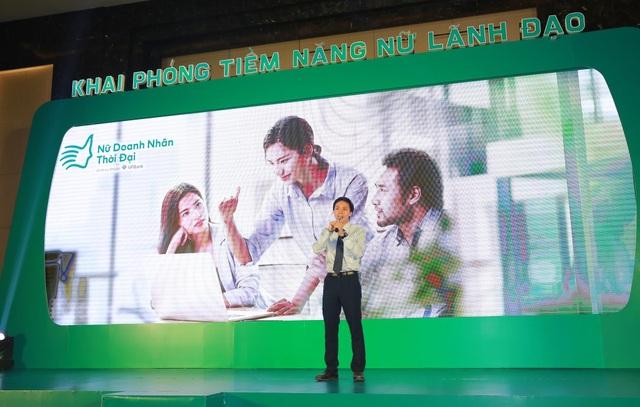 Ông Đào Gia Hưng-Phó GĐ khối SME VPBank phát biểu tại sự kiện