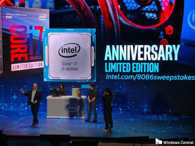 Sẽ chỉ có 8.086 bộ vi xử lý Core i7-8086K đặc biệt được sản xuất