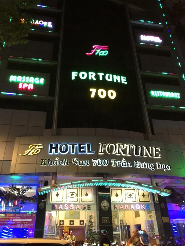 Khách sạn Fortune 700 bị kiểm tra