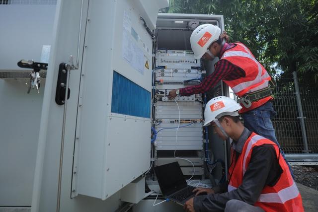 Cho đến sát ngày khai trương, toàn bộ các nhân viên kỹ thuật của Mytel vẫn ở trên tuyến để tiếp tục hoàn thiện mạng lưới.