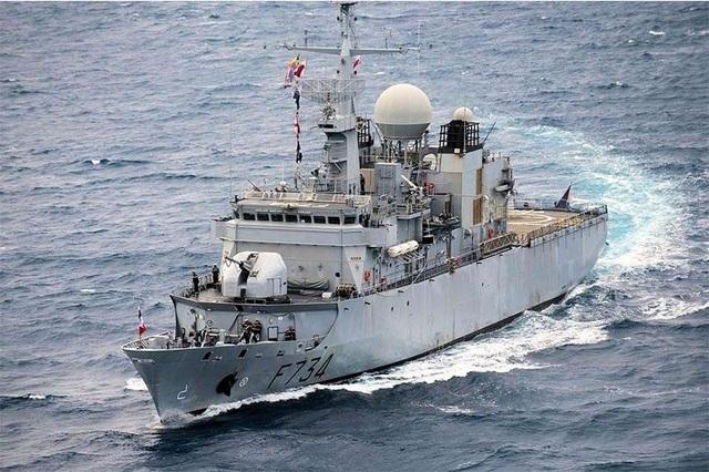 Tàu hộ vệ của Hải quân Pháp (Ảnh: Hải quân Pháp)