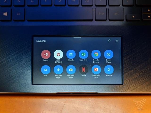 Người dùng có thể kích hoạt nhanh các chức năng trên máy tính từ touchpad này