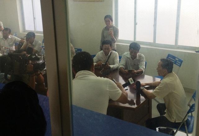 Chủ tịch UBND TP Cần Thơ trả lời báo chí sau khi làm việc với chủ đầu tư BOT Cần Thơ - Phụng Hiệp