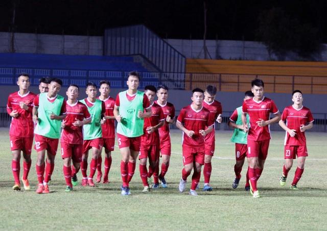 U19 Việt Nam có buổi tập cuối trước trận gặp Thái Lan