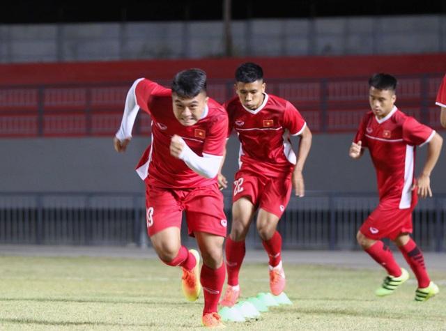 U19 Việt Nam tỏ ra rất quyết tâm