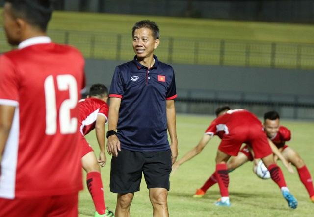 HLV Hoàng Anh Tuấn tự tin về sức mạnh của U19 Việt Nam