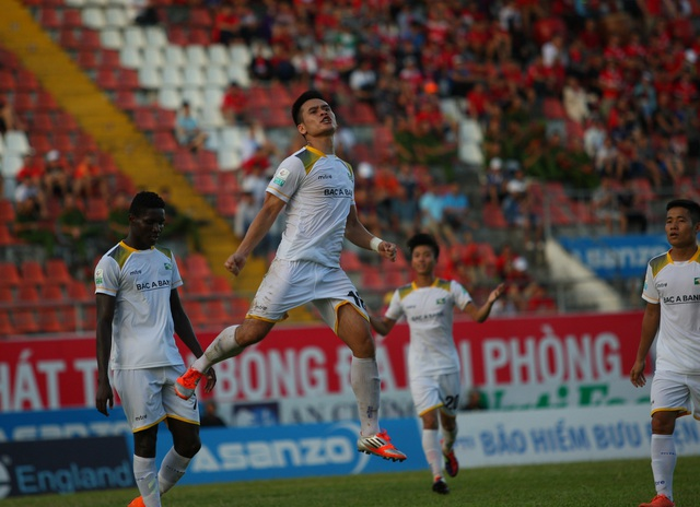 SL Nghệ An giành chiến thắng trên sân khách - Ảnh: Gia Hưng