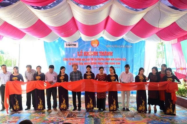 Khánh thành công trình phòng học Dân trí thứ 17 tại Quảng Bình - 5