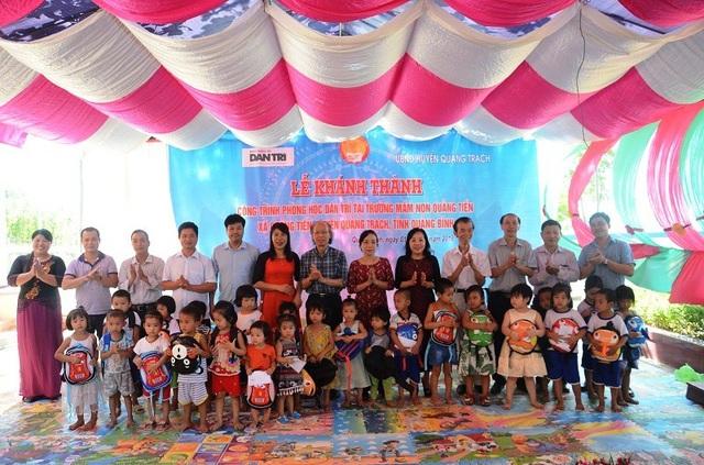 Khánh thành công trình phòng học Dân trí thứ 17 tại Quảng Bình - 11