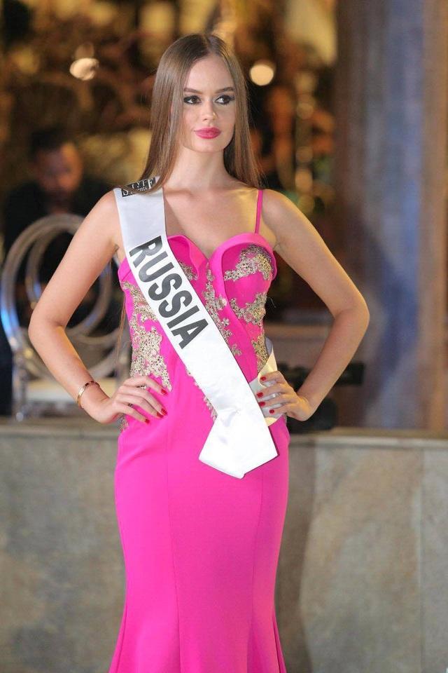 Danh hiệu Á hậu 2 thuộc về người đẹp Nga.