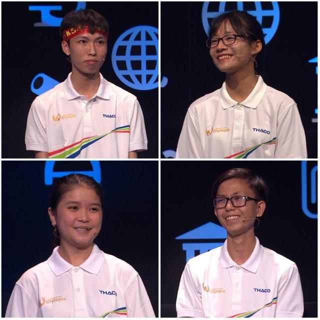 4 thí sinh Trí Dũng, Thanh Huyền, Thuỳ Tiên, Dương Phụng