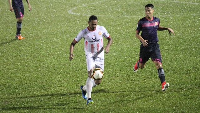 Họ cũng suýt giành điểm trước Sài Gòn FC, nếu không có bàn thắng muộn cho đội bóng thành phố ở phút 90