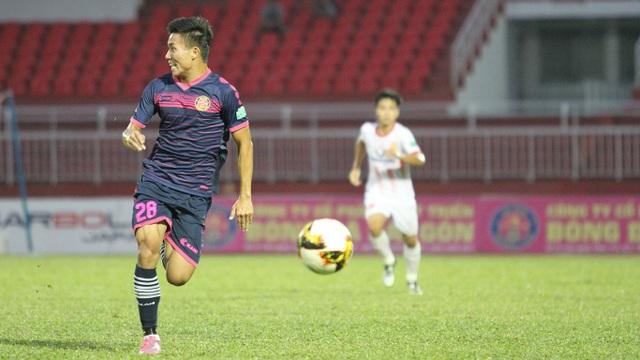 Chiến thắng giúp Sài Gòn FC vượt qua chính Nam Định trên bảng xếp hạng