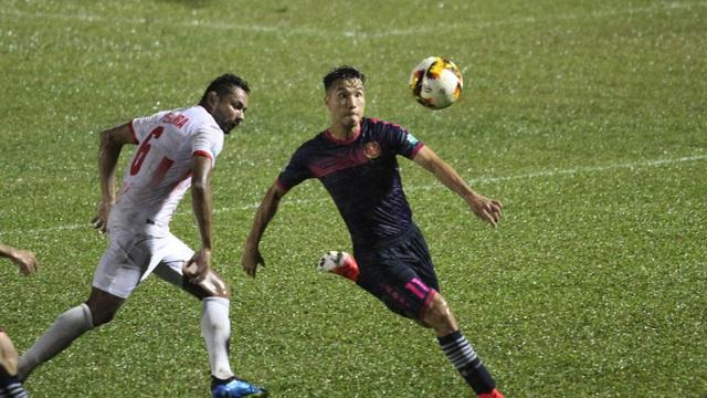 Thua ở vòng 18, Sài Gòn FC vẫn nằm trong vùng nguy hiểm
