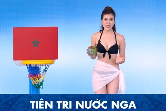 Không ít ý kiến chỉ trích việc Thu Hằng diện bikini trên truyền hình, không phù hợp với nhiều đối tượng khán giả.