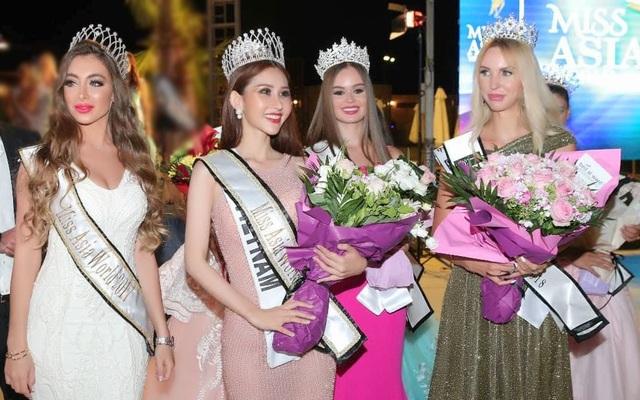 Đồng thời, người đẹp gốc Vĩnh Long cũng nhận thêm giải Người đẹp Tài năng với màn ảo thuật nhận được điểm số cao từ các vị giám khảo.