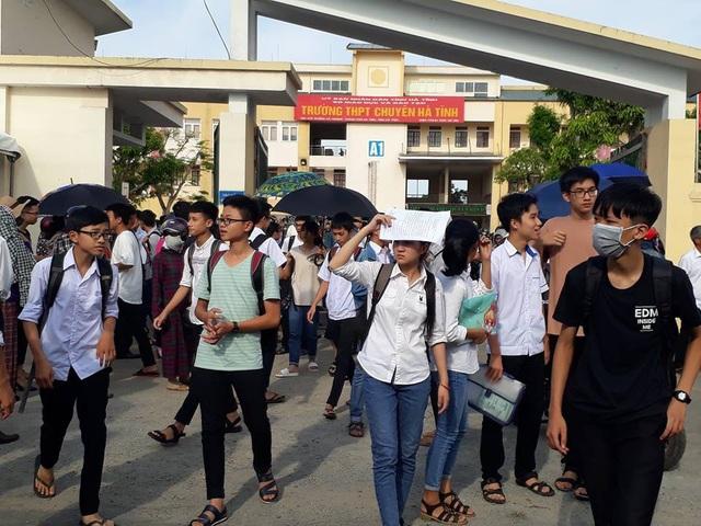 Năm học 2018 -2019 đã có 335 thí sinh trúng tuyển vào Trường THPT Chuyên Hà Tĩnh