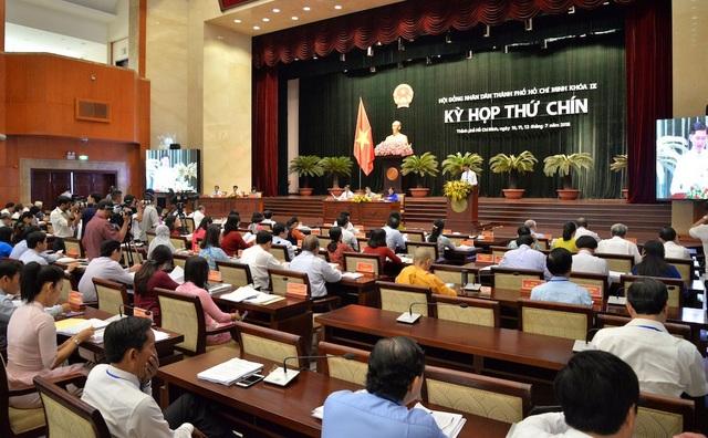 Kỳ họp thứ 9 của HĐND TPHCM khóa IX diễn ra trong 3 ngày, từ 10-12/7