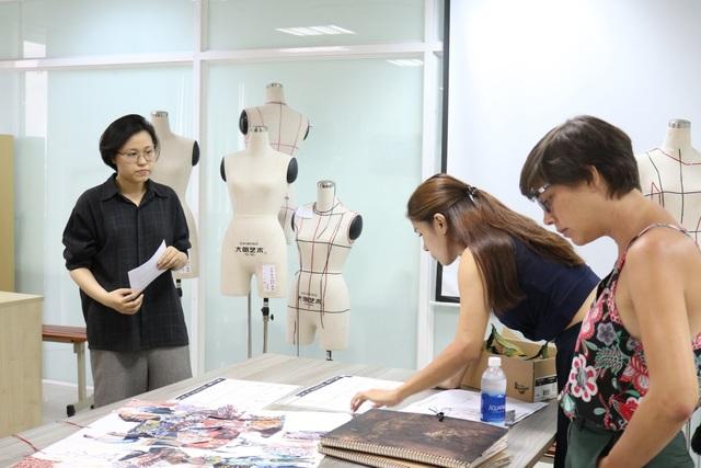 Sinh viên có cơ hội học tập với giảng viên đến từ Viện Mod'Art (Pháp)