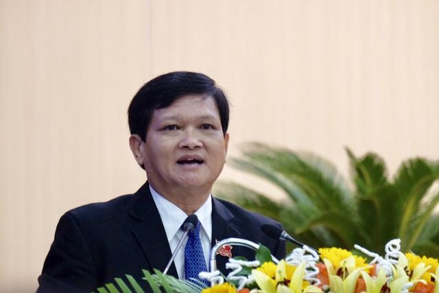 Ông Nguyễn Nho Trung - tân Chủ tịch HĐND TP - phát biểu khai mạc kỳ họp.