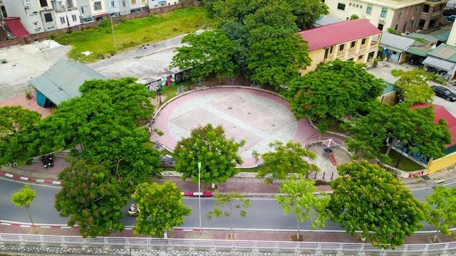 Một phần của khu đất đã được xây dựng thành tổ hợp công trình công cộng phục vụ nhu cầu của nhân dân phường Bưởi (quận Tây Hồ) và giao cho UBND phường Bưởi quản lý.