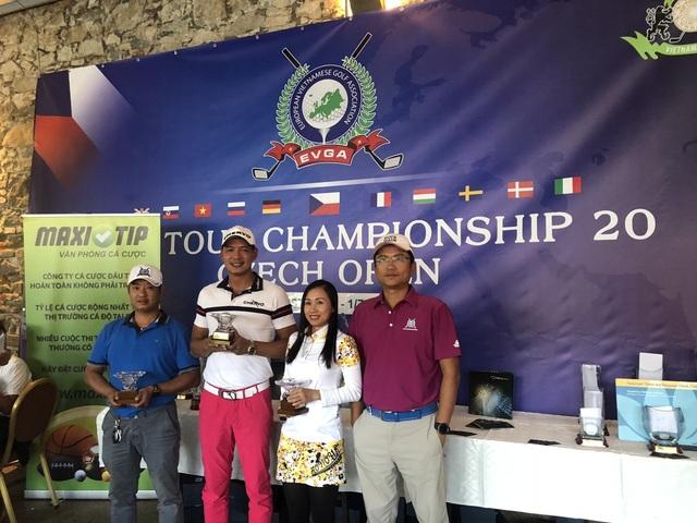 Bình Minh đoạt giải nhất Golf tại CH Séc - Ảnh 2.