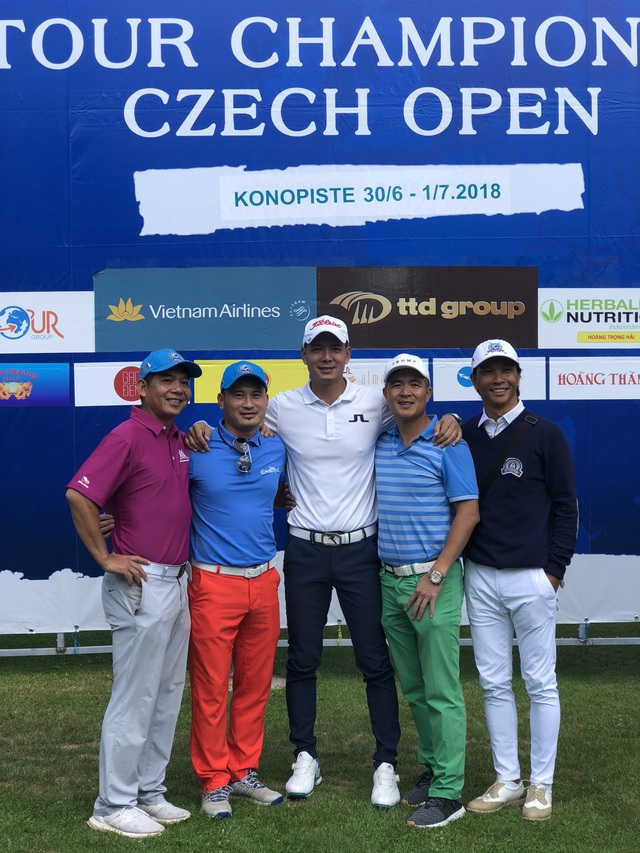 Bình Minh đoạt giải nhất Golf tại CH Séc - Ảnh 3.