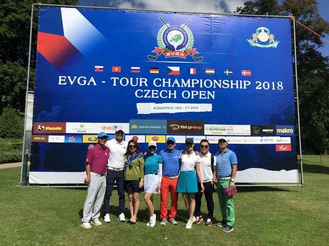 Bình Minh đoạt giải nhất Golf tại CH Séc - Ảnh 4.