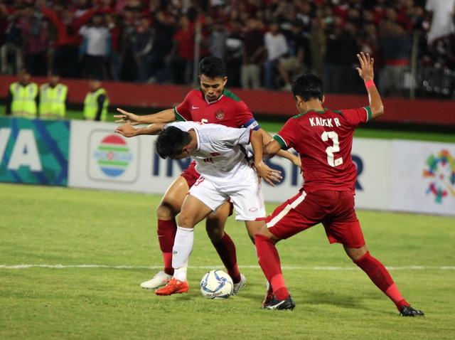 U19 Việt Nam thua trận đấu bước ngoặt trước Indonesia