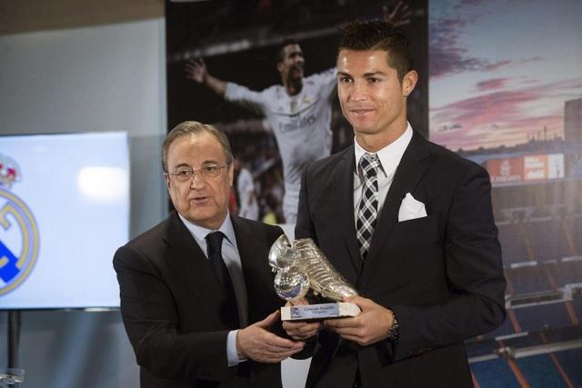 C.Ronaldo cảm thấy bất mãn khi bị Chủ tịch Florentino Perez nuốt lời hứa tăng lương
