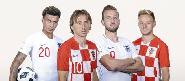Anh và Croatia được đánh giá là có thực lực tương đồng