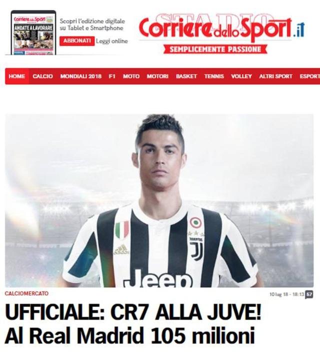 Tờ Corriere dello Sport (Italia) cho hay Juventus sẽ trả số tiền 100 triệu euro cho Real Madrid trong vòng 2 năm (mỗi năm 50 triệu euro), để tránh luật Công bằng tài chính