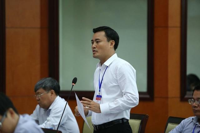 Giám đốc Sở GTVT TP Bùi Xuân Cường